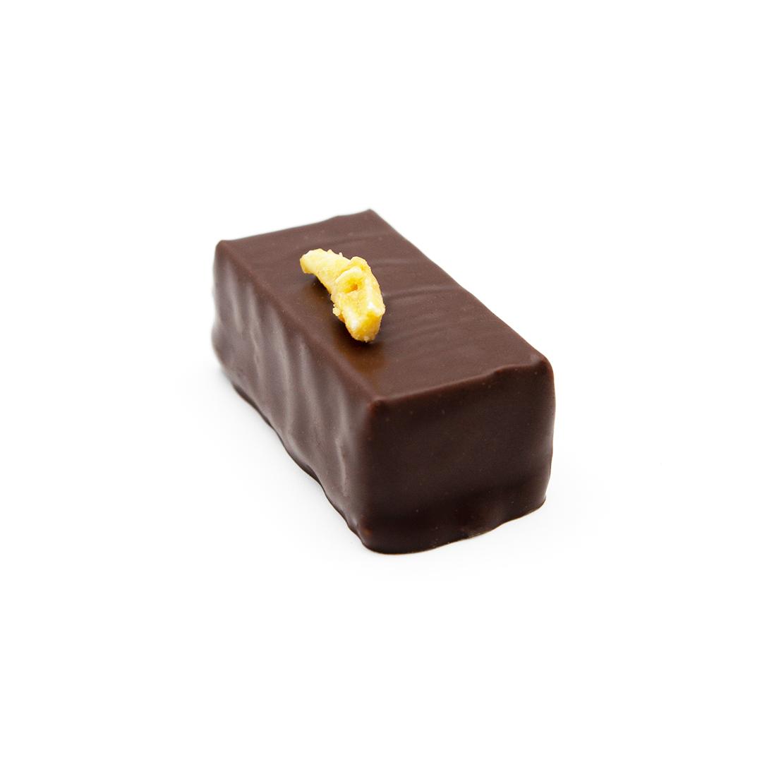 praliné amande, chocolat noir