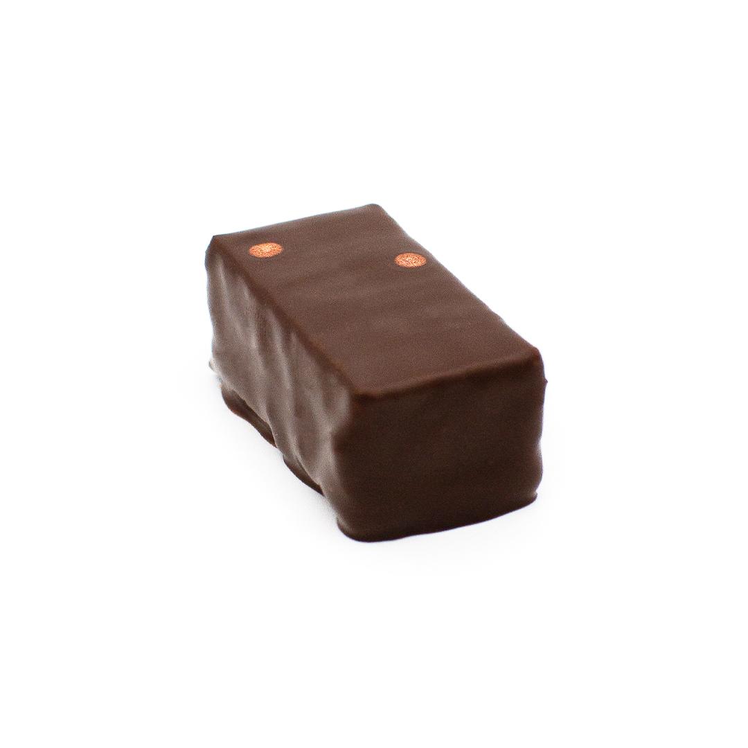 praliné crumble, chocolat au lait